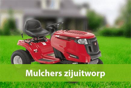Grasmaaier mulch zijuitworp